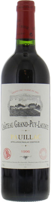 Chateau Grand Puy Lacoste - Chateau Grand Puy Lacoste 1996