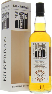 10 Years Old 2004 Madeira Cask 2 46%Kilkerran -