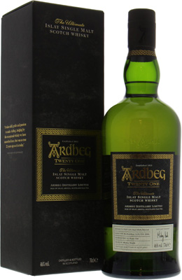 Twenty One 46%Ardbeg -