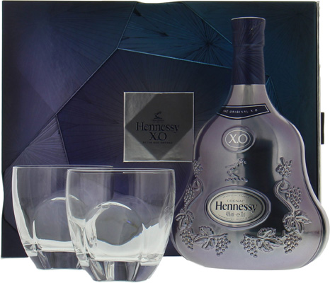 XO Limited Edition Experience coffret with 2 glasses (release 2017)Hennessy -