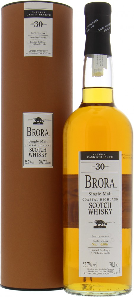 Brora - 6th Release 30 Years Old  55.7%