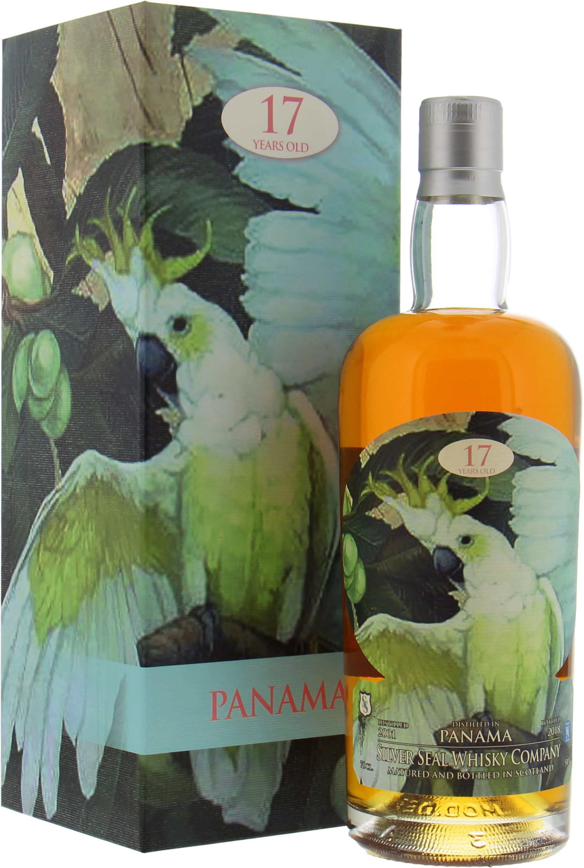 Panama - 17 Years Old Silver Seal Cask 18 51% 2000