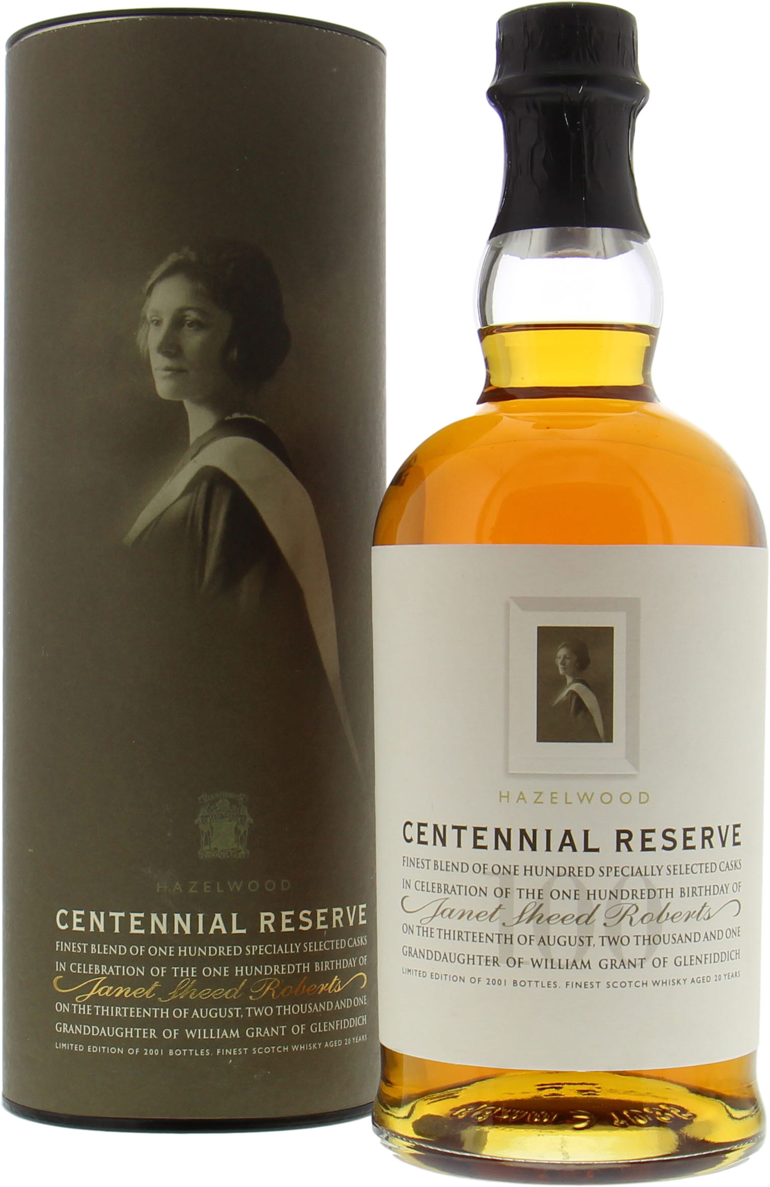 Kininvie - Hazelwood Centennial Reserve 20 Years Old 40% NV