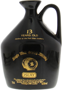 Port Ellen - 13 Years Old Signatory Vintage Ceramic Jug 43% NV
