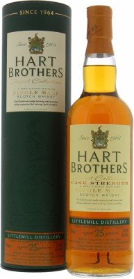 Littlemill - 25 Years Old Hart Brothers Cask 1253 52.1% 1989