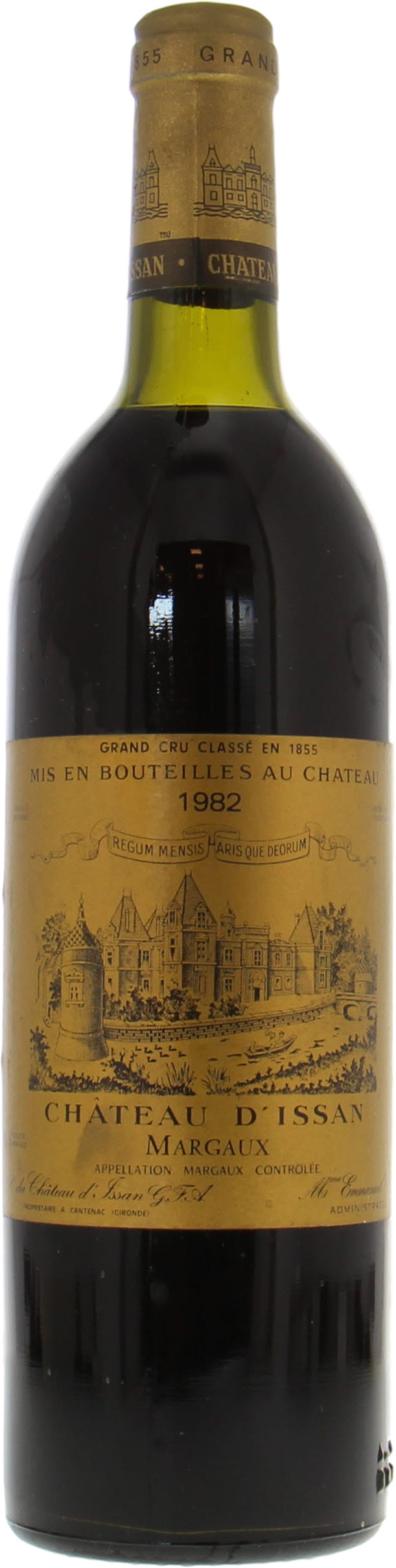 Chateau D'Issan - Chateau D'Issan 1982