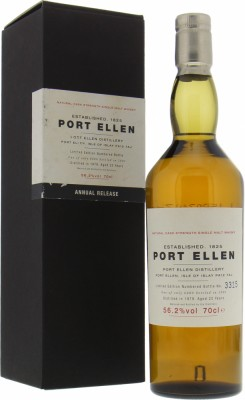 1st Annual Release 22 years Old 56.2% Port Ellen -