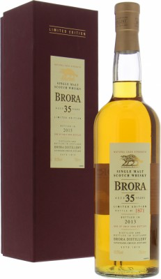 12th Release 35 Years Old 49.9%Brora -