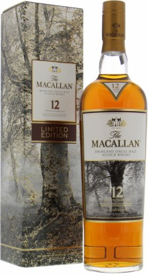 12 Years Old Albert Watson Limited Edition 2016 40%Macallan -