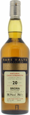 1982 Rare Malts Selection 58.1%Brora -