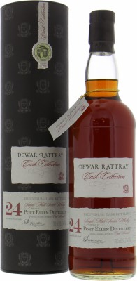24 Years Old A.D. Rattray Individual Cask Bottling Cask 2463 58.2%Port Ellen -