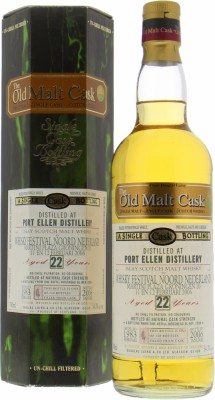 22 Years Old Douglas Laing  Old Malt Cask DL 2398 54.3%Port Ellen -