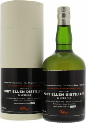 Douglas Laing The Whisky Shop 10th Anniversary Bottling 57.9%Port Ellen -