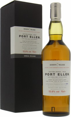 7th Annual Release 53.8%Port Ellen -