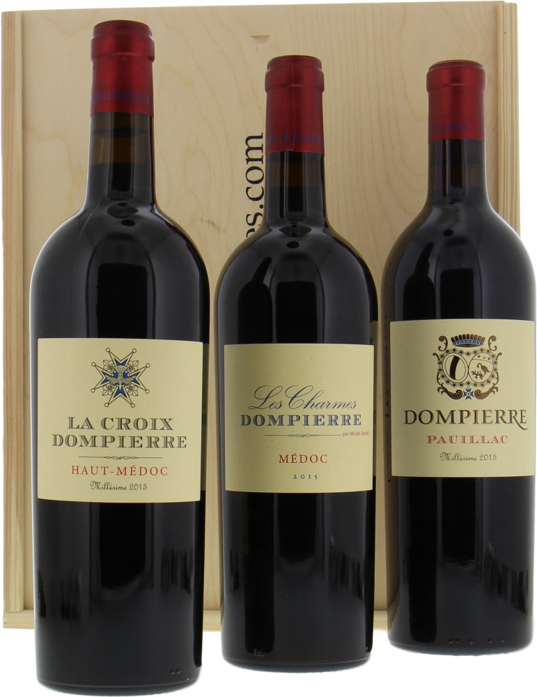 Wine gift - Gift set Dompierre Deluxe edition 2015
