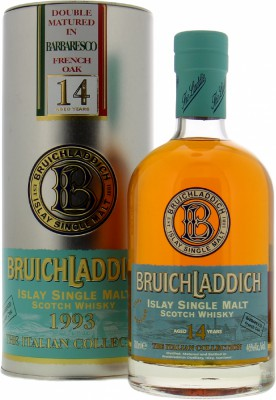 Bruichladdich - The Italian Collection Barbaresco French Oak 46% 1993