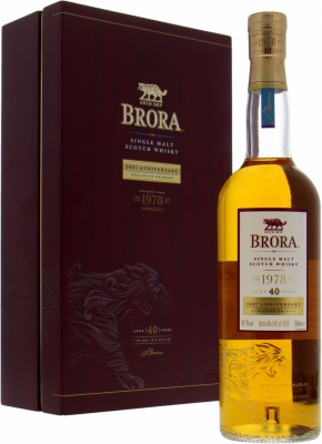 40 Years Old 200th Anniversary 49.2%Brora -