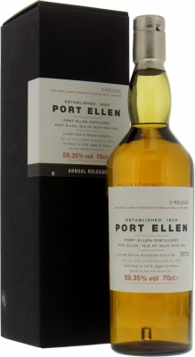 Port Ellen - 2nd Annual Release 59.35% 1978