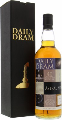 40 Years Old Daily Dram Astral Hits Cask 1532 47.2%Strathisla -