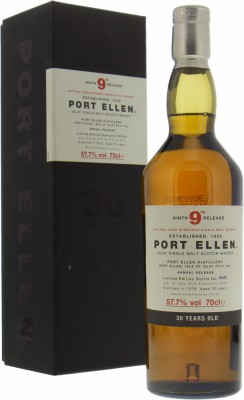 Port Ellen - 9th Release 30 Years Old 57,7% 1979