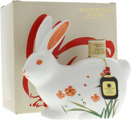 Suntory - 12 Years Old Royal Rabbit Ceramic Decanter 43% NV