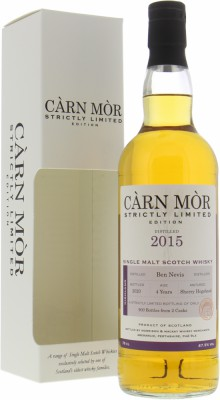 Ben Nevis - 4 Years Old Càrn Mòr Strictly Limited Edition 47,5% 2007