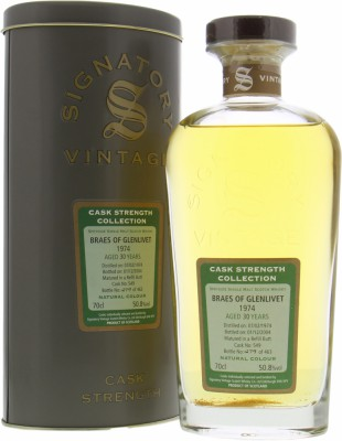 Braeval - 30 Years Old Signatory Vintage Cask Strength Collection 549 50.8% 1974