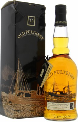 Old Pulteney - 12 Years Old Glass Print Label 40% NV