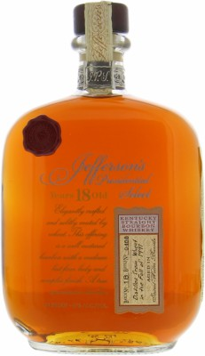 Jefferson's - Presidential Select 18 Years Old Batch 18 47% 1991