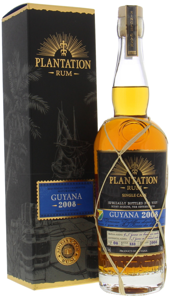 Plantation Rum - 12 Years Old Guyana Cask 8 47.6% 2008