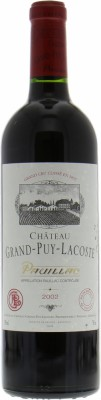Chateau Grand Puy Lacoste - Chateau Grand Puy Lacoste 2002
