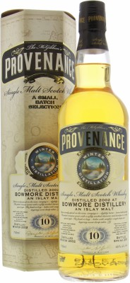 Bowmore - 10 Years Old McGibbon's Provenance Cask:DMG9574 46% 2002